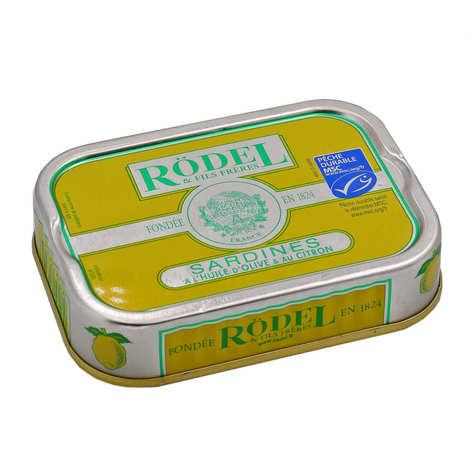 Rödel - Sardines à l'huile d'olive et au citron