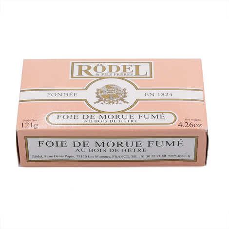 Rödel - Foie de Morue fumé au bois de hêtre