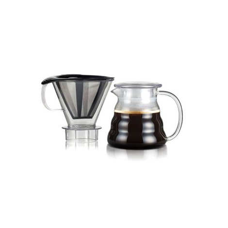Bodum - Permanent filter coffee maker and stainless steel mesh 0.6L - Melior