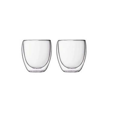 Set 2 double-sided glasses of 25 cl - Pavina