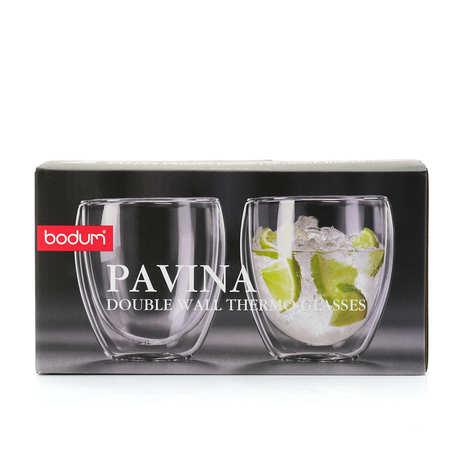 Bodum - Set 2 double-sided glasses of 25 cl - Pavina