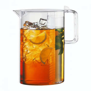 Plastic detox pitcher with removable filter 1.5L - Ceylon
