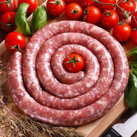 Maison Bousquet - Saucisse fraîche roulée de Porc Lou Teychou Aveyron