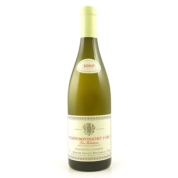 Puligny Montrachet Premier Cru Folatières white Burgundy