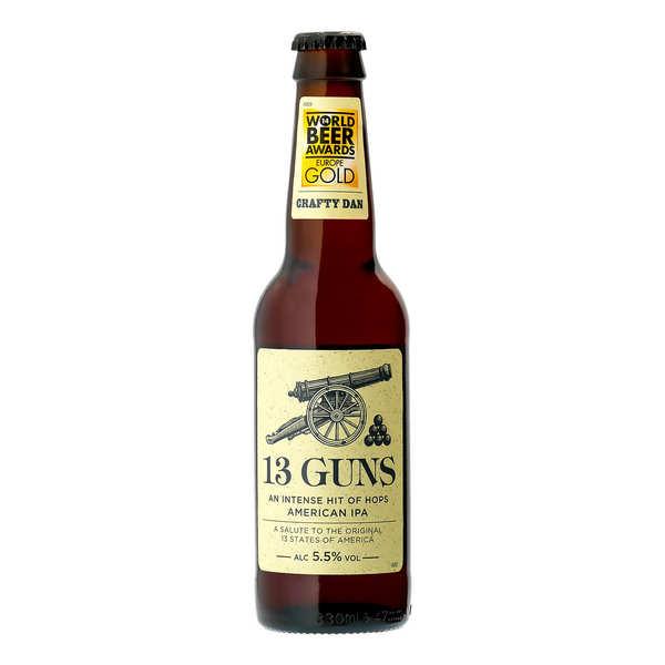 13 Guns - Bière ambrée IPA Anglaise