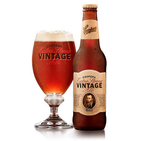 Coopers Brewery Ltd. - Coopers vintage ale 2016 - Bière forte australienne