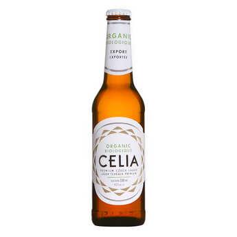 Celia lager - Bière premium Tchèque Celia bio sans gluten