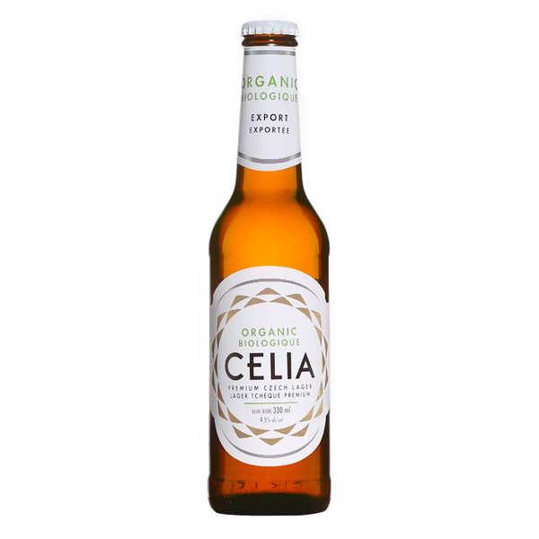 Bière premium Tchèque Celia bio sans gluten
