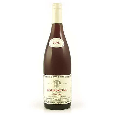 Domaine Vincent Bouzereau - Bourgogne Pinot Noir - 12,5% - Vin rouge
