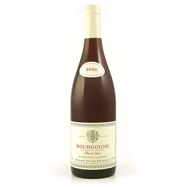 Bourgogne pinot noir - 12,5% - 2016 - bouteille 75cl