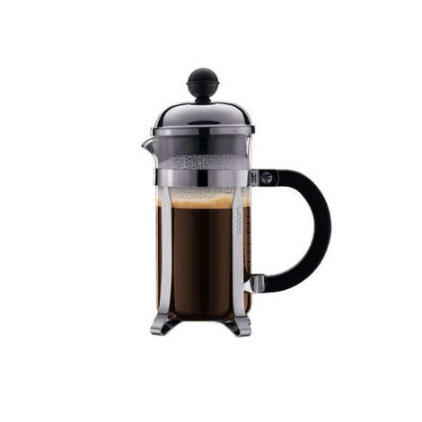 Bodum - Stainless steel coffee maker with comfortable 35cl grip handle - Chambord