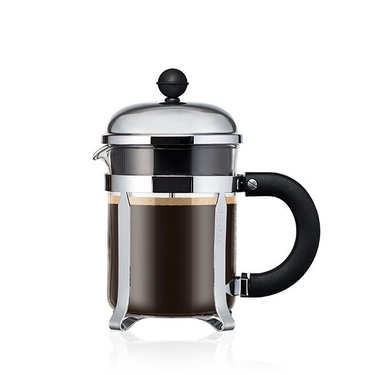 Stainless steel coffee maker with comfortable 50cl grip handle - Chambord
