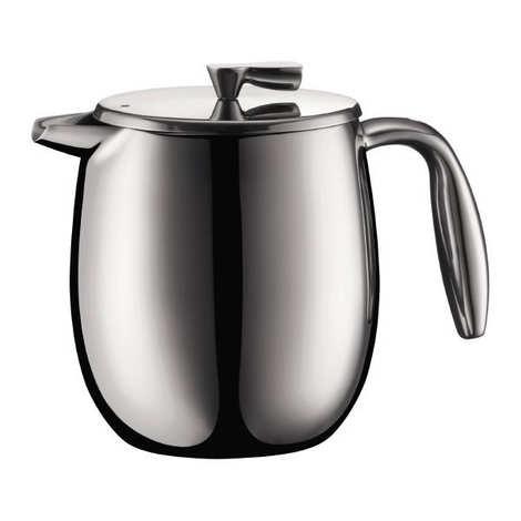 Bodum - Double wall stainless steel piston coffee machine 0.5L - Bodum Colombia
