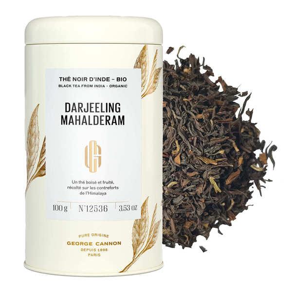 Organic Darjeeling black tea from India - Metal Box
