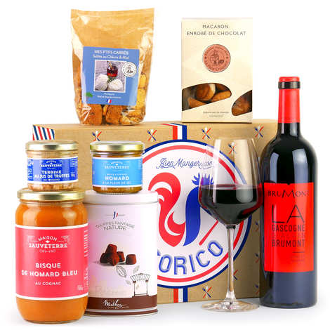 BienManger paniers garnis - Coffret cadeau gourmand Cocorico