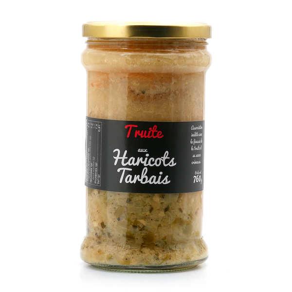 Truite aux haricots tarbais