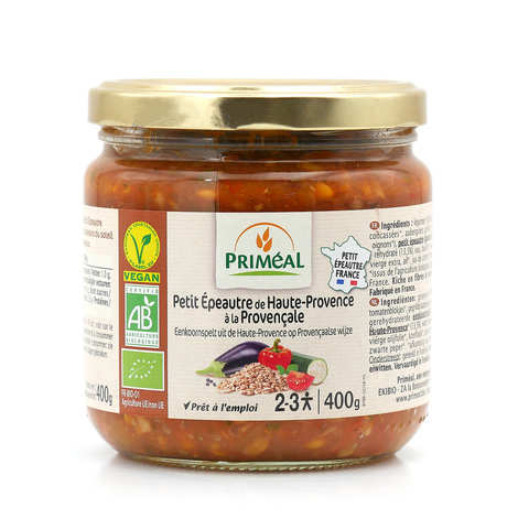 Priméal - Organic Einkorn from Haute Provence with Provencal sauce