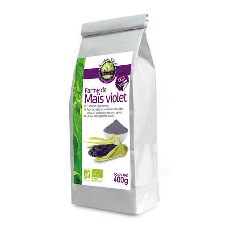 Biosagesse - Farine de maïs violet bio