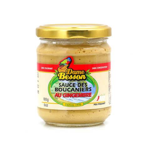 Dame Besson - Sauce des boucaniers au gingembre
