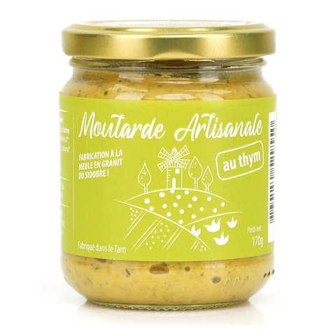 Moutarde Eglantine de Lautrec - Moutarde au thym de Lautrec