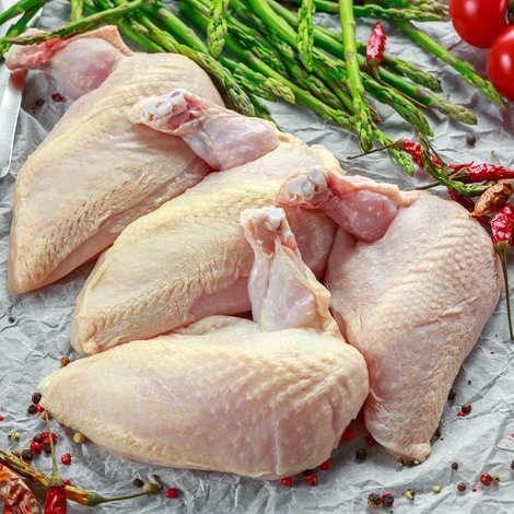 Maison Bousquet - 10 suprêmes de poulet Fermier Label Rouge IGP Gascogne