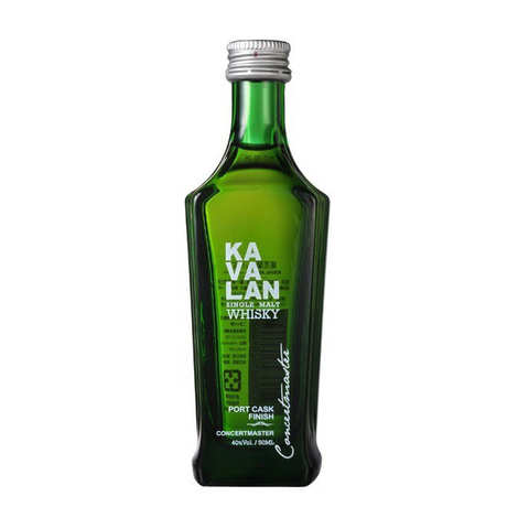 Kavalan - Kavalan Port Cask Finish - mignonnette whisky taïwanais - 40%
