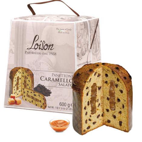 Dolciara A. Loison - Panettone au caramel au beurre salé et pépites de chocolat
