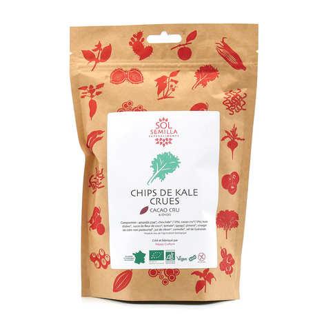 Sol Semilla - Chips de kale crues cacao-épices bio