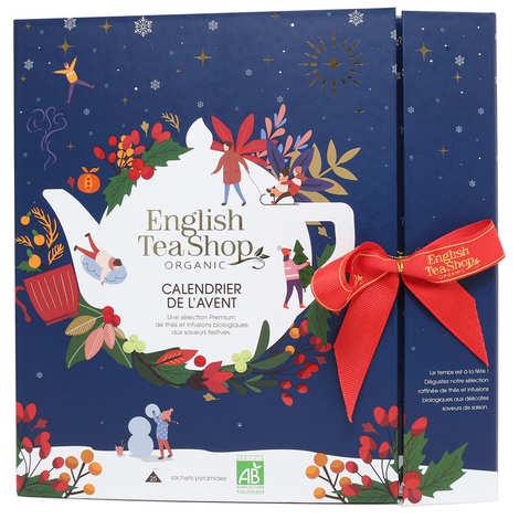 English Tea Shop - Calendrier de l'avent Bleu de thés et infusions biologiques
