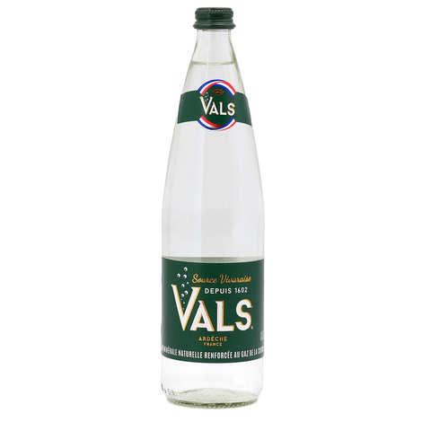 Vals - Eau minérale naturelle gazeuse d'Ardèche - Vals
