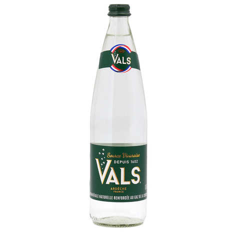 Vals - Natural sparkling mineral water from Ardèche - Vals