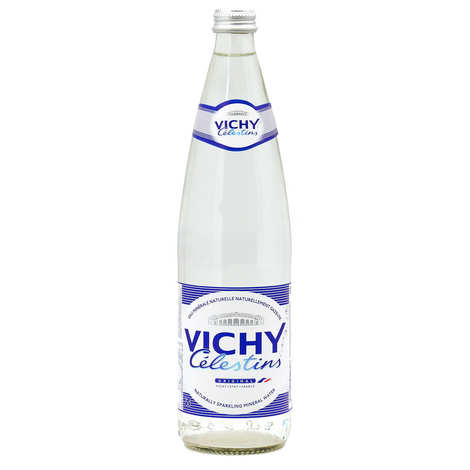 Vichy Célestins - Natural sparkling mineral water from Vichy