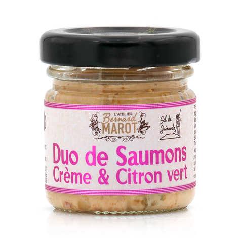 Bernard Marot - Duo de saumon au citron vert