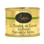 Terrine de canard aux figues parfumée au Loupiac