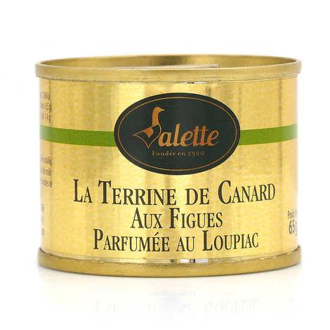 Valette - Terrine de canard aux figues parfumée au Loupiac