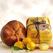 Panettone fourré à la crème Limoncello