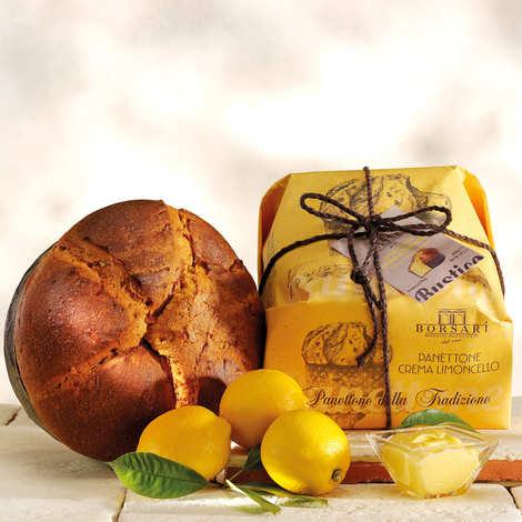 Borsari - Panettone fourré à la crème Limoncello
