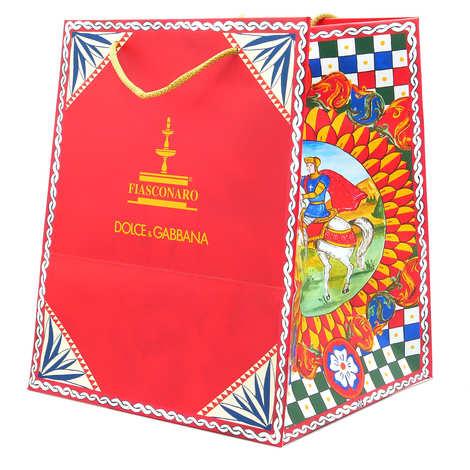 Dolce & Gabbana - Panettone with ice cream and Gianduja Dolce & Gabanna