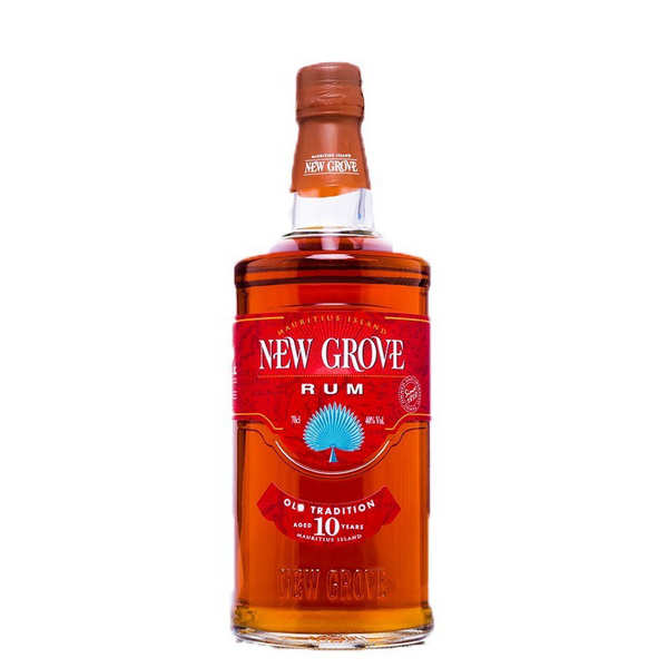 Rhum New Grove 10 ans Old Tradition - 40% (Ile Maurice)