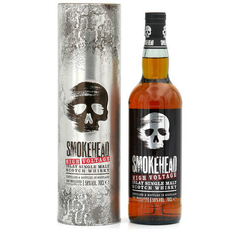 Smokehead - Smokehead high voltage - Islay Single Malt Whiskey Peated - 58°