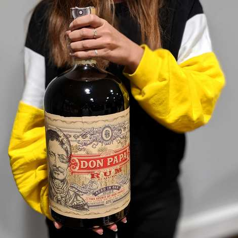 Bleeding heart rum company - Don Papa Rum - Small Batch from the Philippines - 40% - Magnum