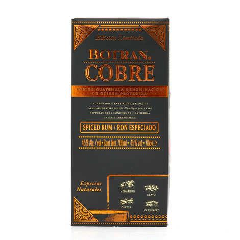 Botran - Botran cobre - Rhum du Guatemala - 45°