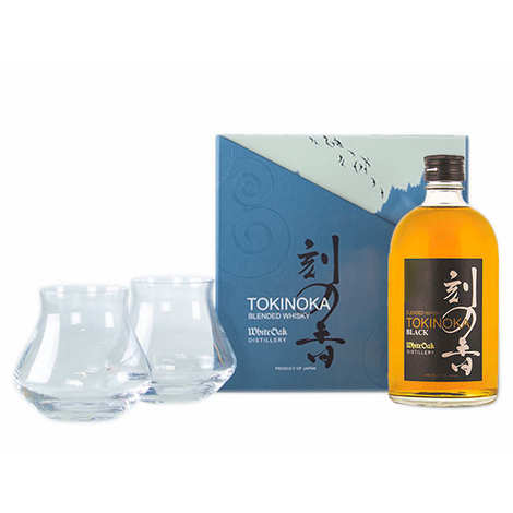 Tokinoka - Whisky Black Tokinoka - Coffret 2 verres Warm -  50%