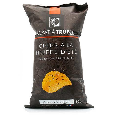 Truffières de Rabasse - Chips à la truffe d'été (Tuber Aestivum 1%)