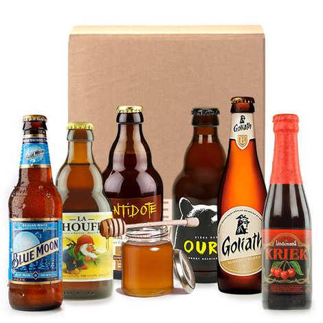 - Box découverte bières d'automne (octobre)