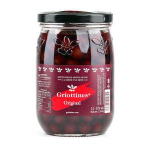Grandes Distilleries Peureux - Griottines® en bocal de 1L Le Parfait