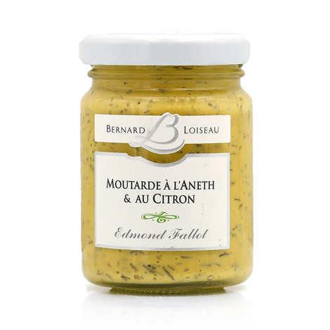 Fallot - Lemon dilly mustard - Bernard Loiseau