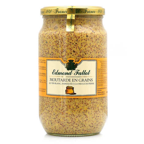 Fallot - Moutarde en grains - Edmond Fallot 80cl