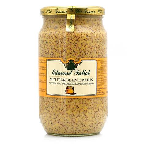 Fallot - Mustard beans - Edmond Fallot 80cl