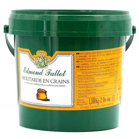Fallot - Mustard beans - Edmond Fallot baby 1.1kg